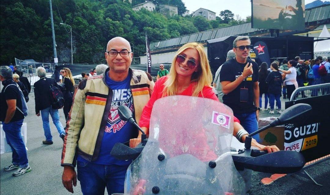 ANDREA GRECO, CON MOTO GUZZI FINO IN ARMENIA E RITORNO