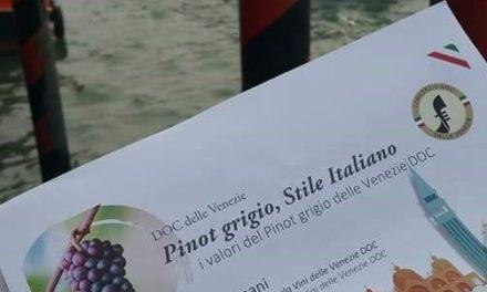 A VENEZIA PRIMO SUMMIT INTERNAZIONALE SUL PINOT GRIGIO