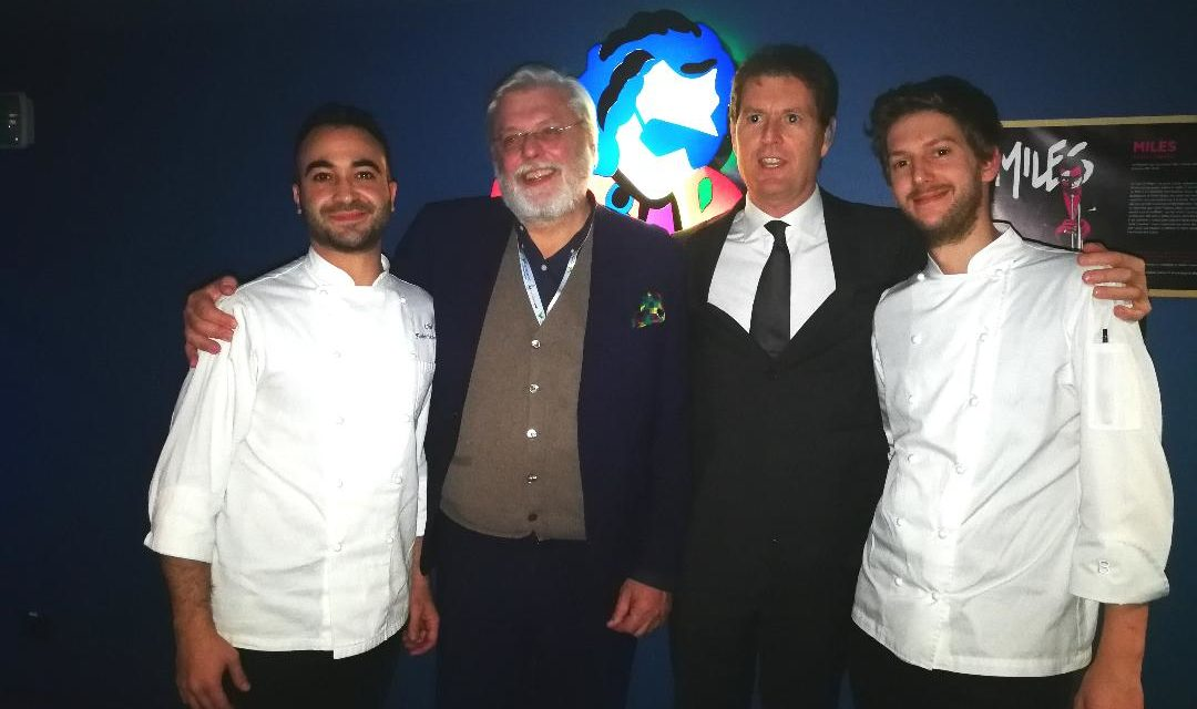 DON LISANDER E BLUE NOTE UNITI IN CUCINA